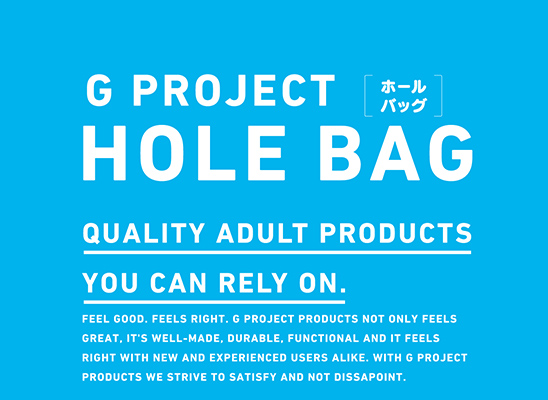 G PROJECT HOLE BAG pink G PROJECT HOLE BAG